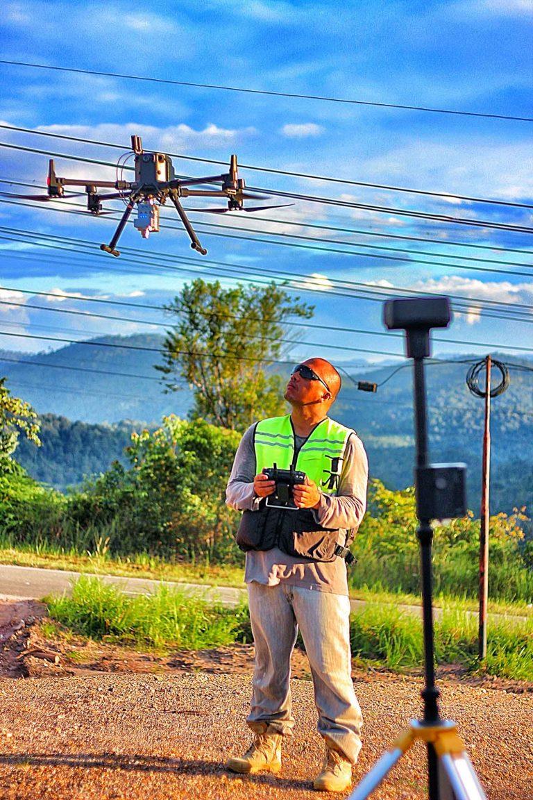 jasa survey pemetaan fotografi lahan tambang kebun lidar topografi