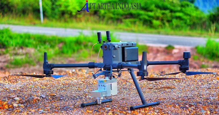 drone lidar m300 jasa pemetaan topografi